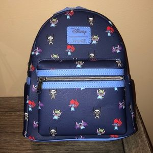 Disney Loungefly Stitch in costume Mini Backpack